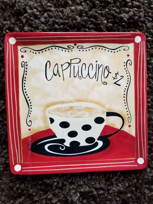 Four Coffe Mug Plates for the Coffee Lover