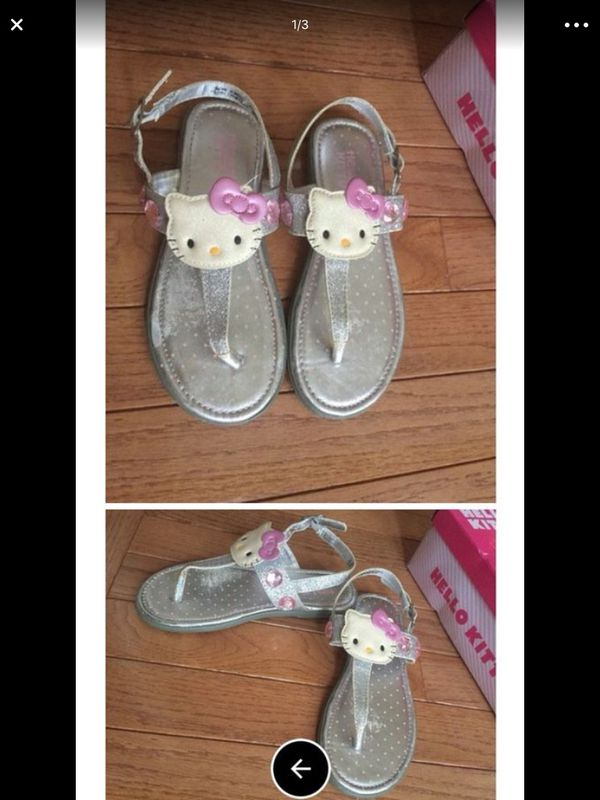 a0d326c178465   WORN BUT NOT WORKED ON   SIZE 13 Hello Kitty Girl s Sandals with Box ❗️IF  POSTED THEN AVAILABLE ❗ (Baby   Kids) in Plainfield