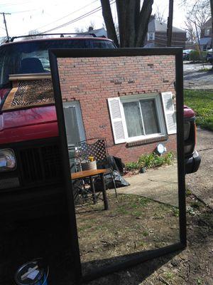 """55""""*32"""" Black framed Large Full Body Mirror NICE"""