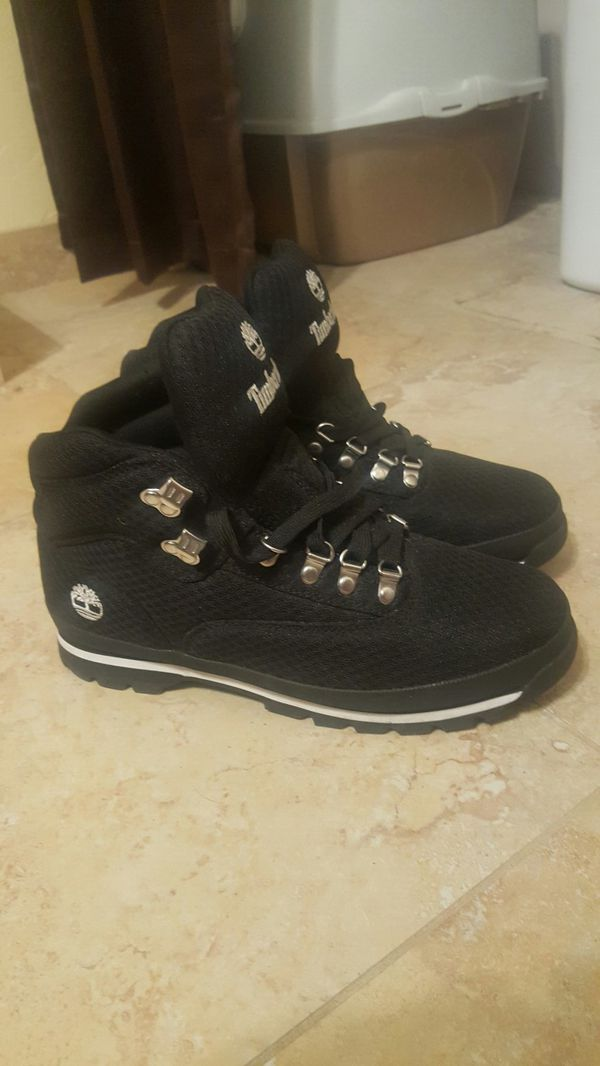 New size 10 black timberland boots (Clothing   Shoes) in Tucson 720528e1a2de