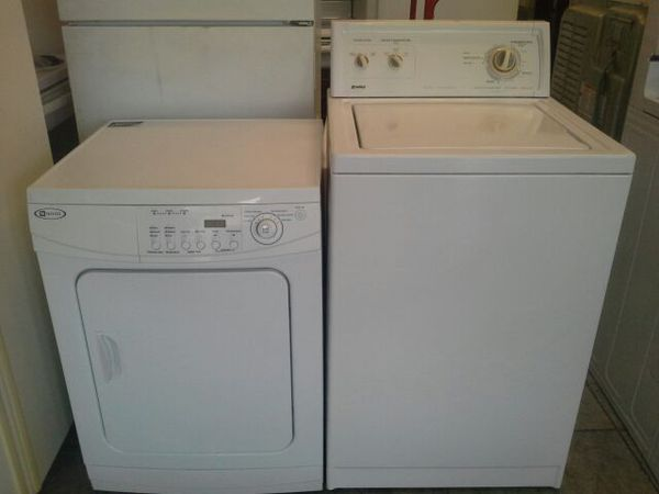 Apartment size washer and dryer. ( Kenmore washer and maytag ...