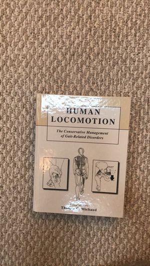 Brand New Human Locomotion Book!