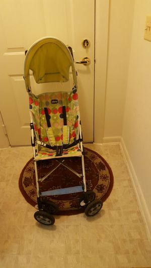 Use stroller still in good condition is just missing the bag on the back but still fine $25