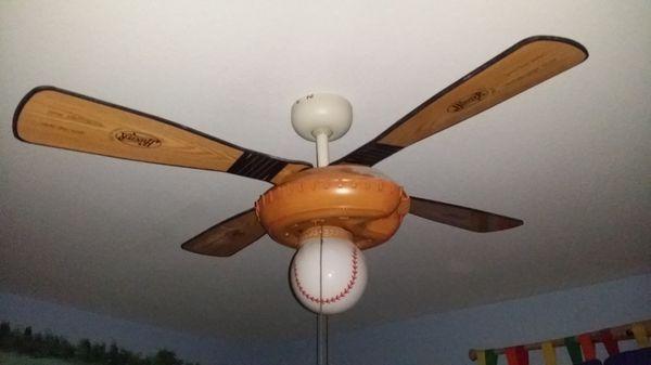 44 inch hunter baseball ceiling fan home garden in kingsport tn 44 inch hunter baseball ceiling fan aloadofball Gallery