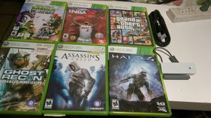 Games Xbox 360 and wifi adapter