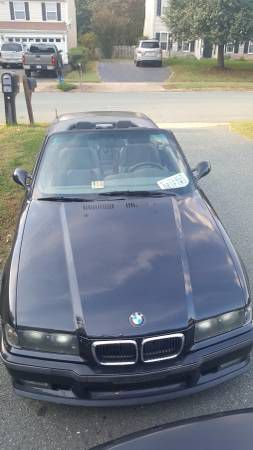 BMW M Cabrio Black W Black Leather FAST RELIABLE FUN - Fast reliable cars