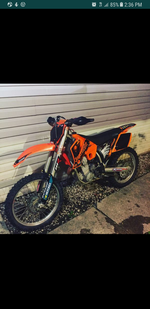 2003 KTM 450f Dirtbike with title $1400obo