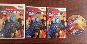 Megamind Mega Team Unite- Nintendo Wii, 2010. Complete.
