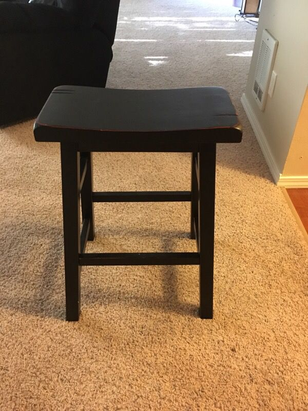 Two Black Bar Stools From Fred Meyer Furniture In Kirkland Wa Offerup