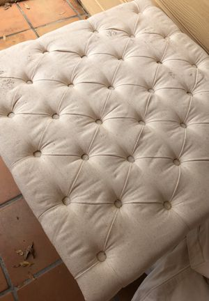 Ottoman tufted Pier 1
