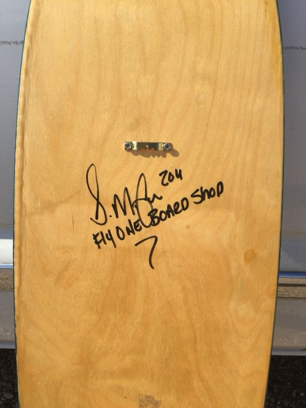 Original Flyone Board Shop Hand Crafted Surf Board Wall Decor ...