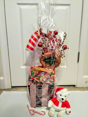 Candy cane basket Gift