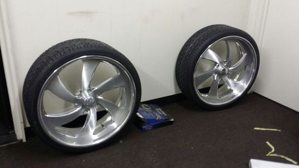 Billet Wheels Intros 24 26x12 Reverse Auto Parts In