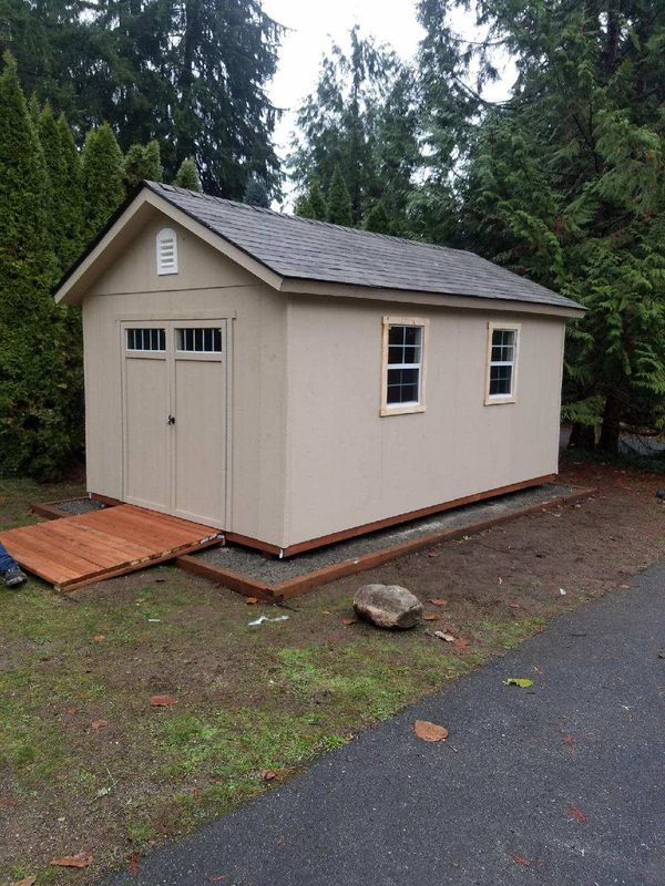 10x16 Storage Shed General In Lakewood Wa Offerup