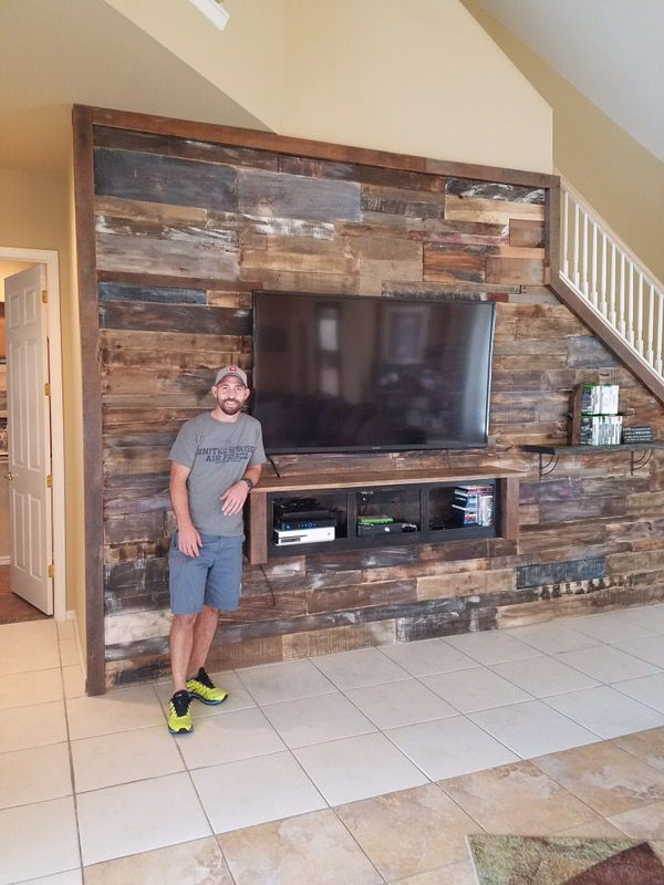 Transform your house with reclaimed wood accent wall *Barn WoOd ...