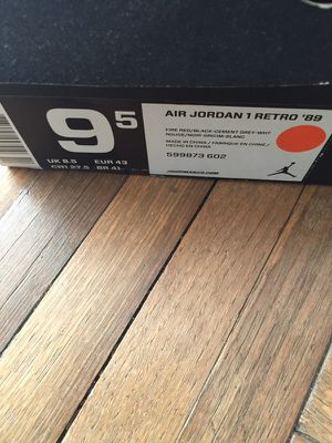 """Air Jordan 1 Retro """"89"""" authentic shoe"""