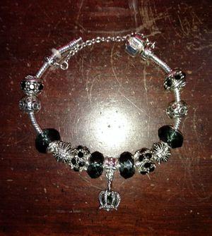 Silver Bracelet (Crown)