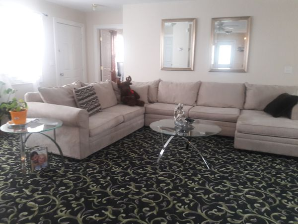whole living room set two end tables coffee table tow mirrors above the chair - Whole Living Room Furniture Sets