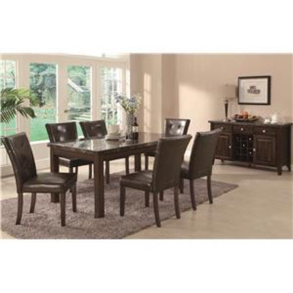 dining table and 6 chairs - Dining Room Furniture Dallas