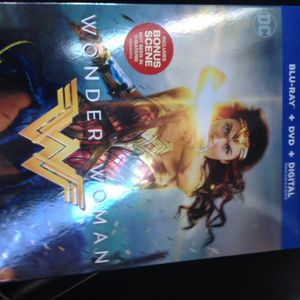 Wonder women blu-Ray
