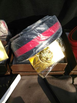 New style Gucci felion belt
