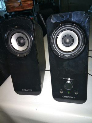 Creative inspired T12 computer speakers