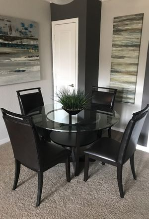Four chair dining room set