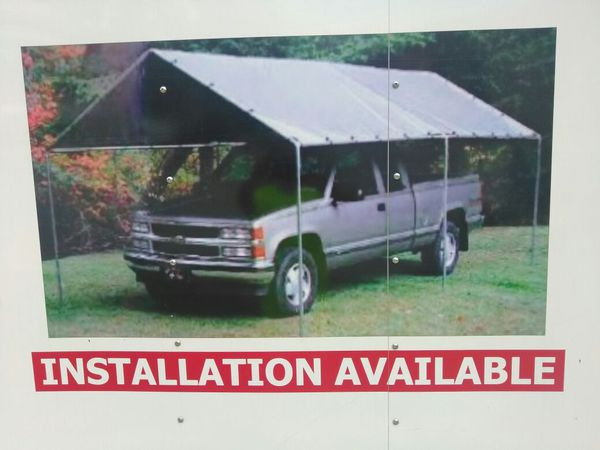 I Have Heavy Duty 12 Mil Tarps And Canopies For Sale