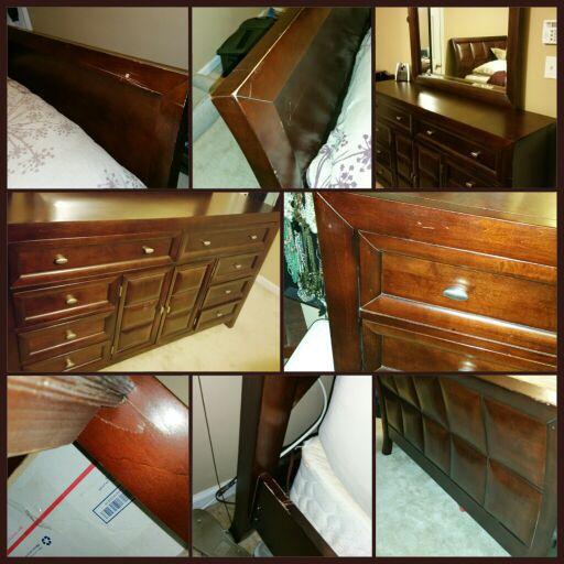 4pc queen bedroom set must go furniture in atlanta ga for Bedroom furniture 30324