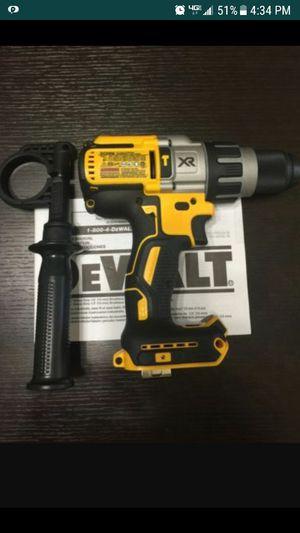 hammer drill dewalt XR brusless no baterías no cargador
