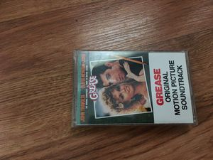 Grease soundtrack on tape