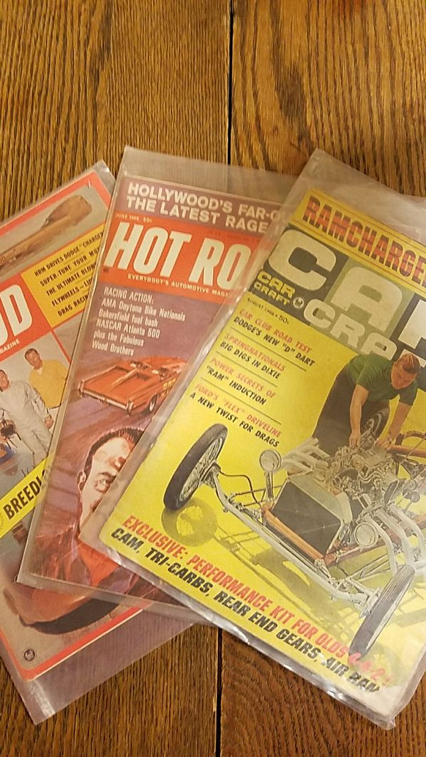 Vintage car magazines (Books & Magazines) in Escalon, CA