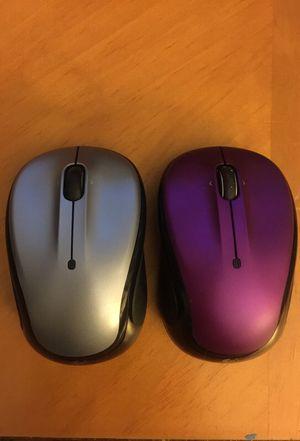 Logitech M325 Wireless Mouse (No USB Reciever) x2