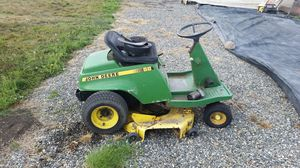 John deere rx 68 riding lawn mower