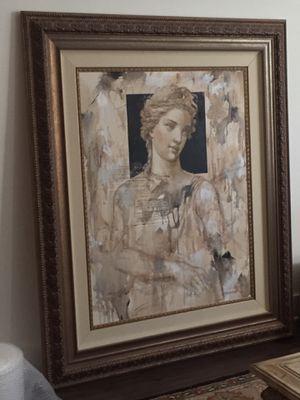 Francois Fressinier original oversized oil on canvas