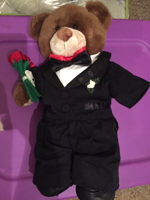 Build a Bear Groom/Prom