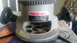 Porter cable router base's