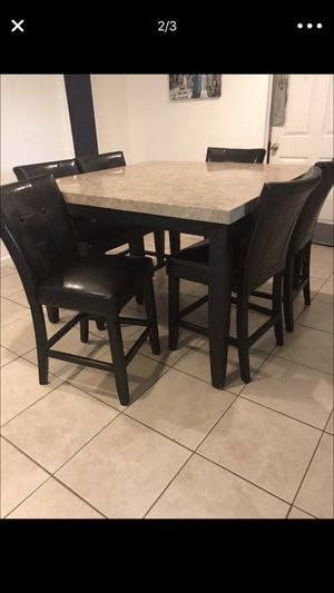 Dinner my room table and chairs