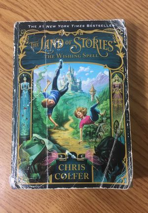 Chris Colfer The Land of Stories the Wishing Spell
