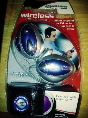 WIRELESS HEADPHONES LISTEN GAME, FM RADIO