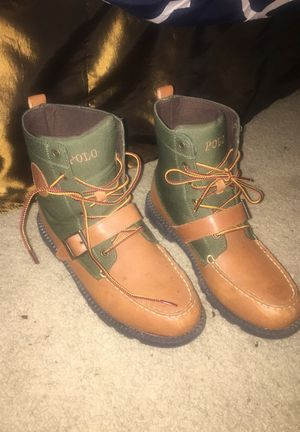 Polo Boots Size 7Y