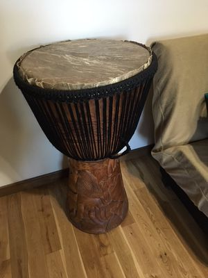 Genuine large African Drum