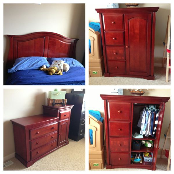 Babies R Us 3 Piece Bedroom Set Furniture In Bothell Wa Offerup
