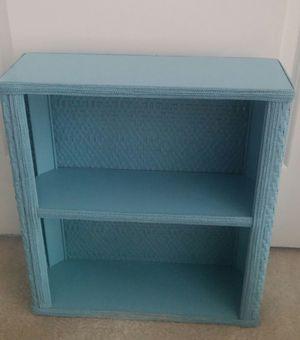 Wicker Bathroom Shelf