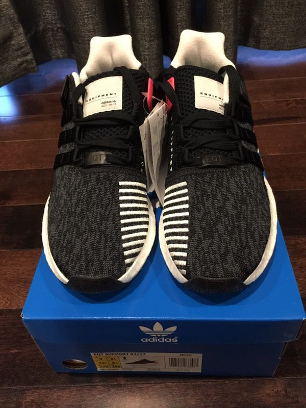 Youth adidas EQT Support ADV Athletic Shoe black 1436242