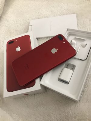 iPhone 7 Plus 128gb RED FACTORY UNLOCKED