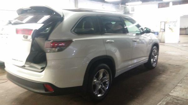 Toyota Highlander limited awd