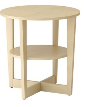 IKEA Vejmon Rare Birch Side Table