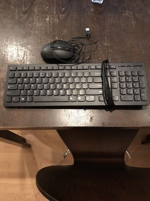 Keyboard with mouse