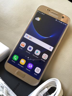 Samsung Galaxy S7,32 GB, excellent condition factory unlocked